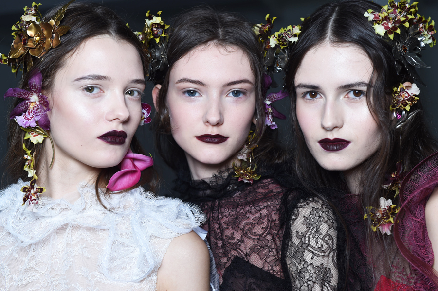NARS Rodarte AW16 Beauty Look