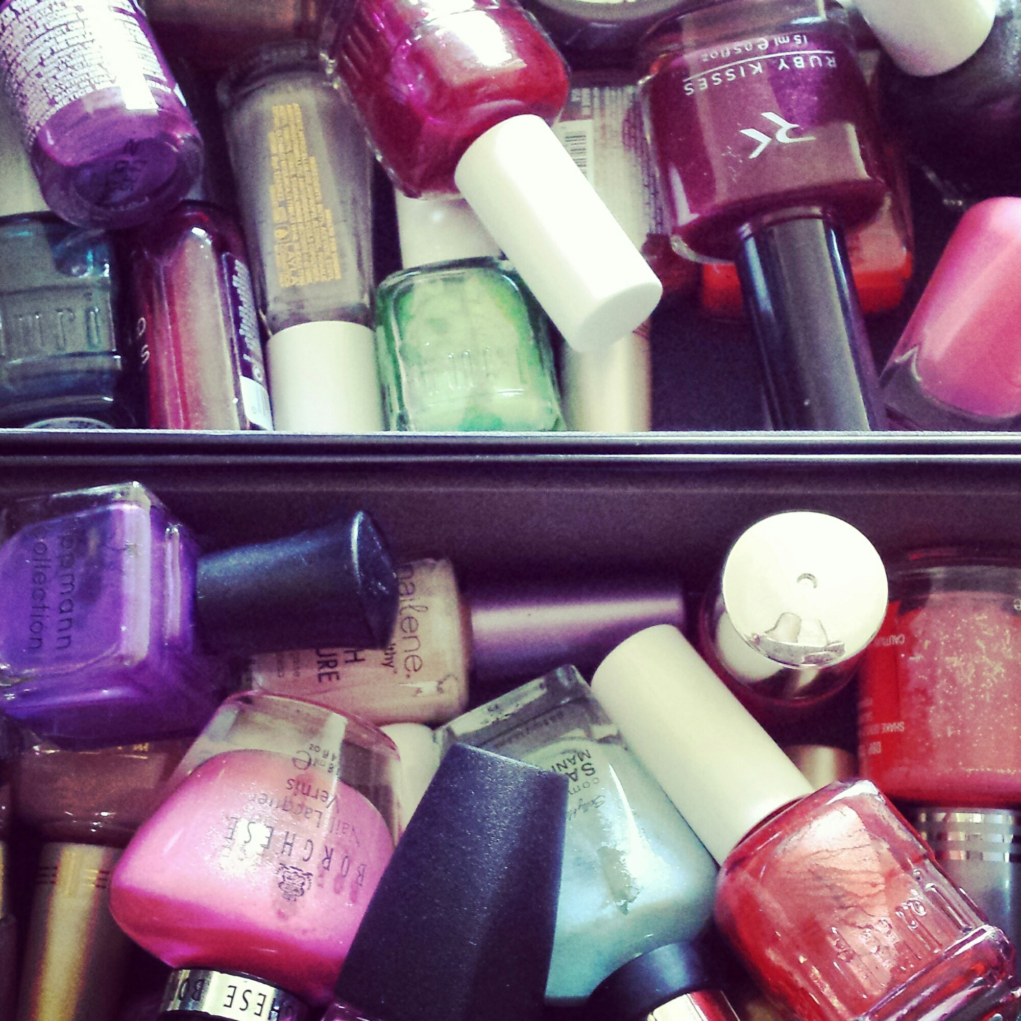 My collection of nail polish