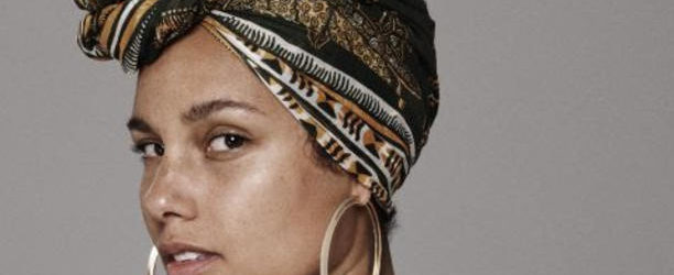 Alicia Keys with no makeup