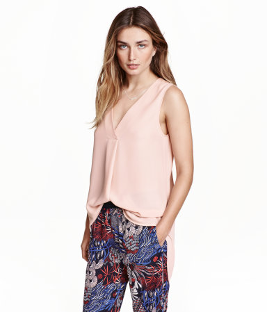 H&M Crepe Blouse from the Conscious Collection