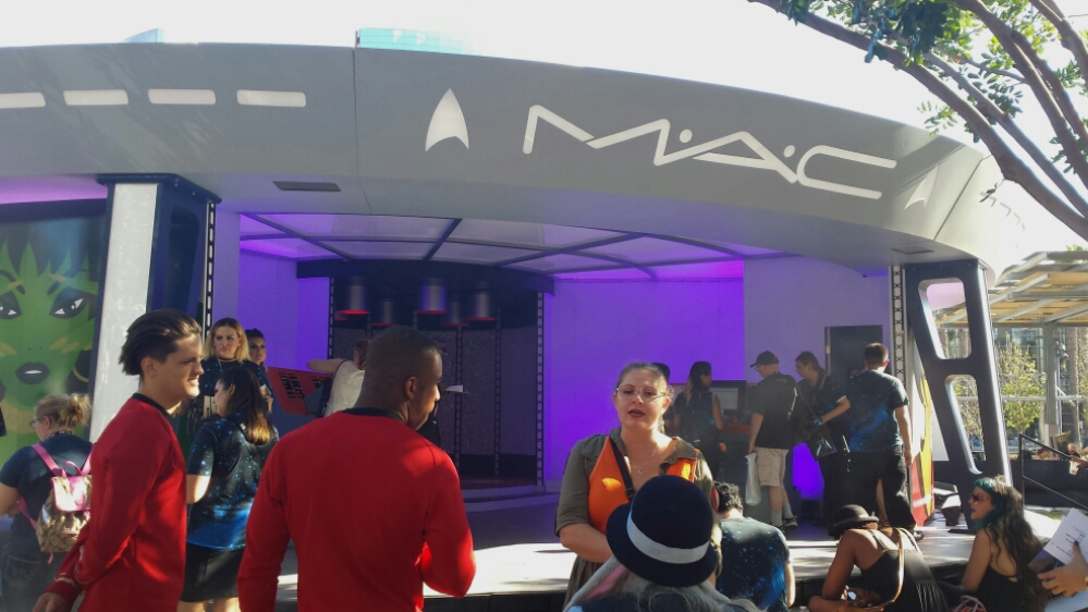 MAC Cosmetics at Comic Con