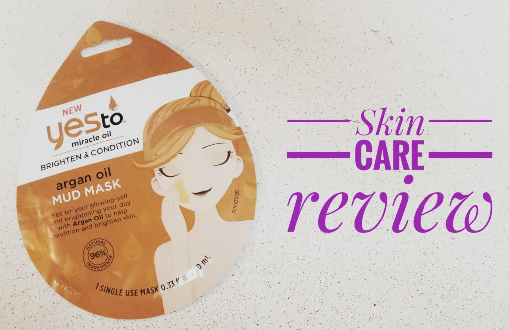 Yes To Argan Oil Mud Mask Review