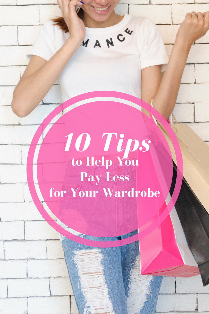 10 tips to pay less for your wardrobe