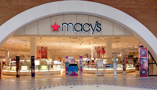 Macy's store front