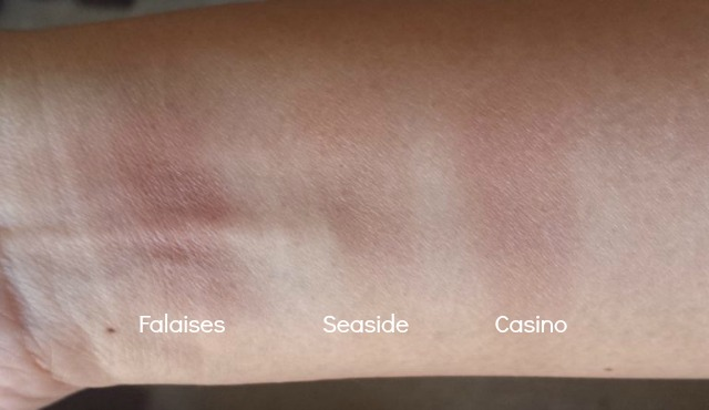 NARS Sun Wash Diffusing Bronzers Swatches