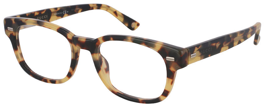 Gucci tortoise shell glasses