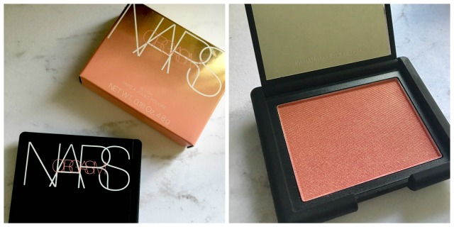 NARS limited edition Orgasm blush in collectible compact