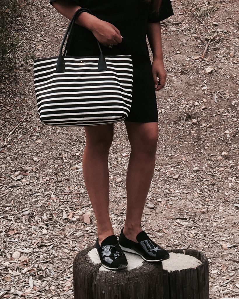 Kate Spade tote and CK Shoes