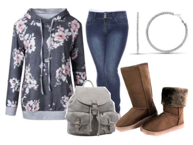 Casual fall outfit idea on a budget