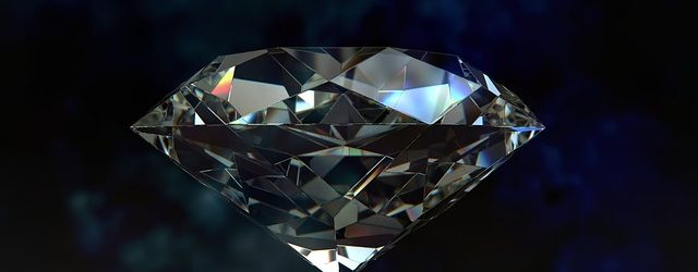 Closeup of diamond