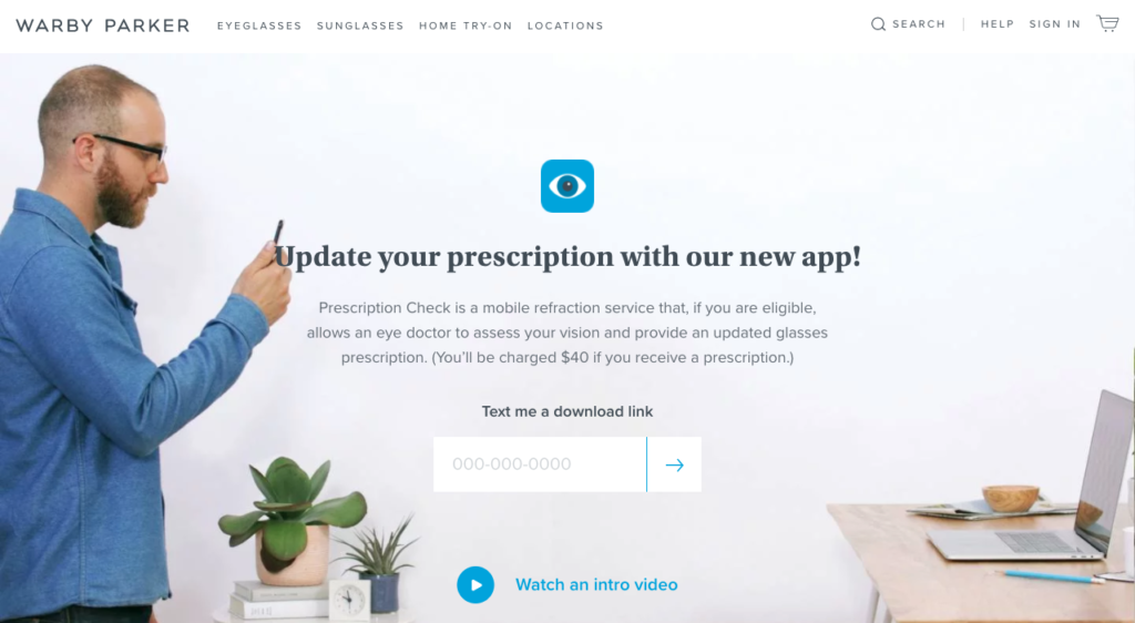 Eye Prescription App